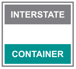 Interstate container logo